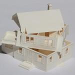 modello casa (vista interna)